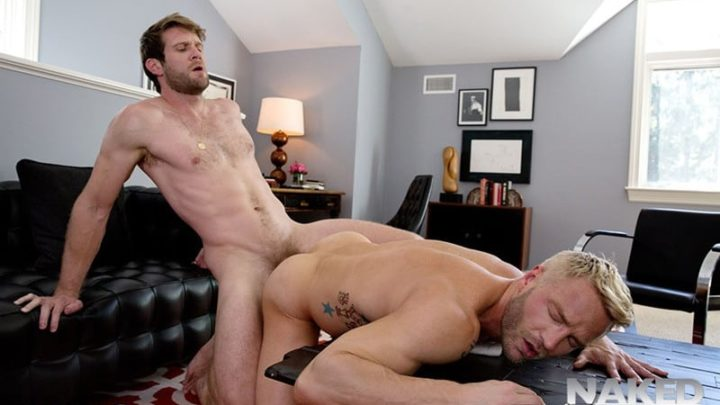 Colby Keller, Levi Karter and Will Wikle go on an ass fucking thrilling ride with The Stillest Hour