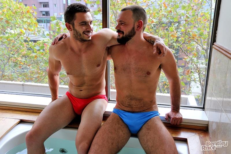 Aussie James Nowak's hot tub hook up with Romain Deville