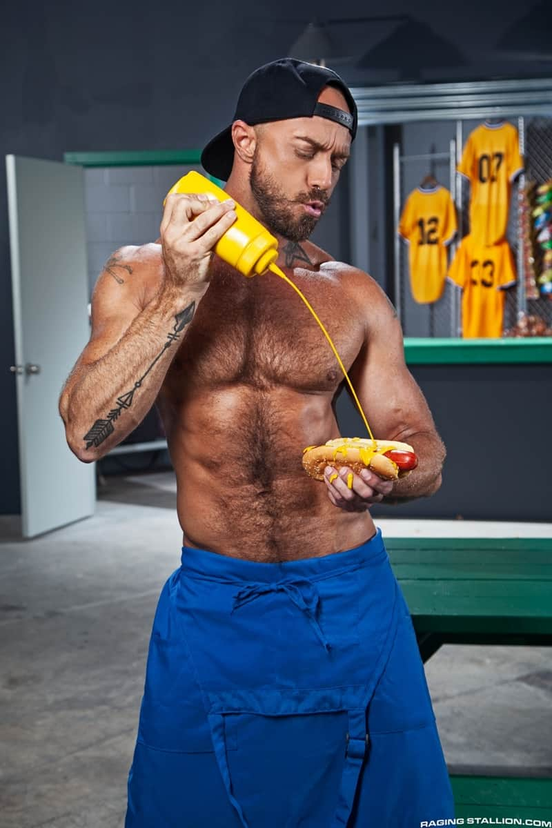 Bearded-muscle-hunk-Jessie-Colter-huge-cock-bareback-fucking-Drake-Masters-sweaty-hairy-hole-RagingStallion-003-Gay-Porn-Pics