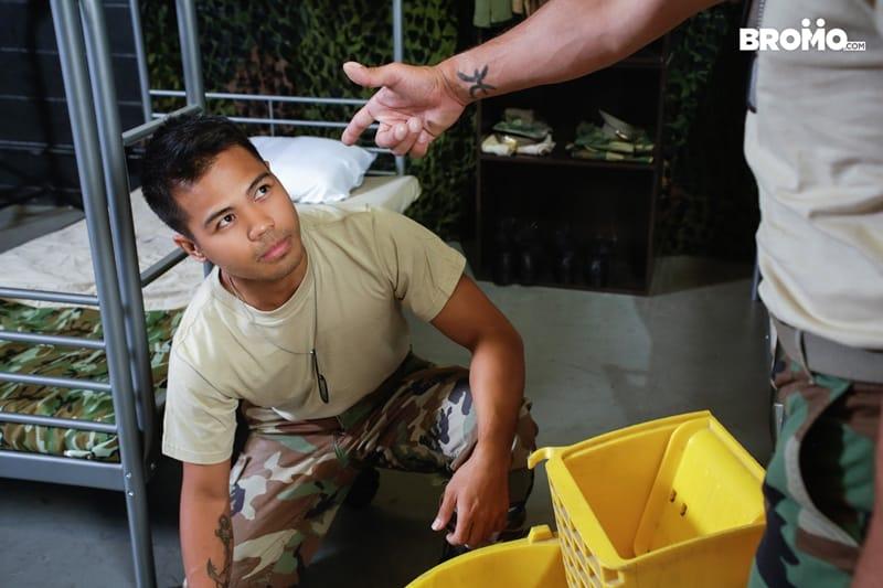Cesar-Xes-hungry-bottom-bitch-John-Rene-huge-cock-fuck-ass-hole-army-barracks-Bromo-010-Gay-Porn-Pics