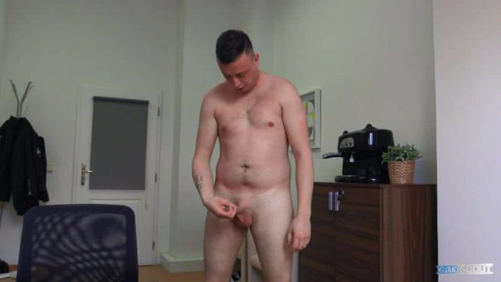 Straight Czech dude tricked into sucking cock and getting virgin ass fucked at Dirty Scout 238