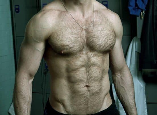 Hairy chested Spanish hunk Scott Carter